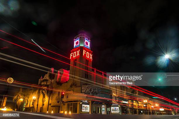 The Fox Theater opened in 1930 presides over the lowrise downtown Bakersfield Calif