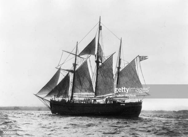 Norwegian explorer Fridtjof Nansen's ship the 'Fram' which was later used by Roald Amundsen