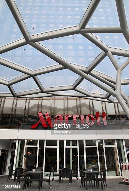 The Frankfurt Marriott Inc Hotel site of the Banks in Crisis conference stands in Frankfurt Germany on Thursday Sept 9 2010 Marriott International...