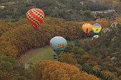 The French association Celeste Company organize 'The Celestial Flight' on October 23 2015 in Uzes FranceDuring 3 days of The Celestial Flight twenty...