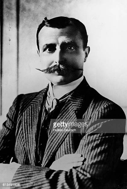 The French aviator and inventor Louis Bleriot In 1909 he flew across the English Channel the first man to do so