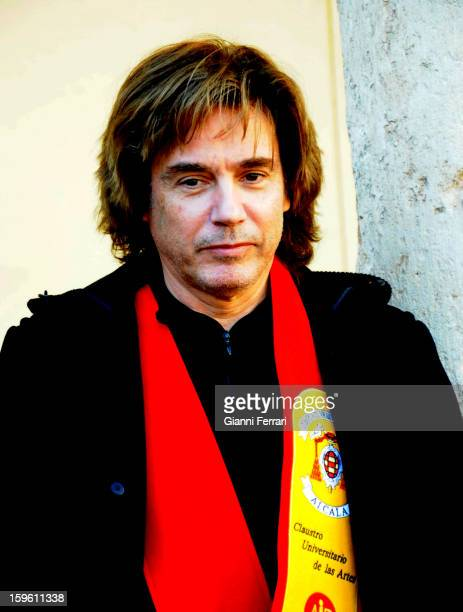 The French composer and performer Jean Michel Jarre 06th November 2012 Alcala de Henares Madrid Spain