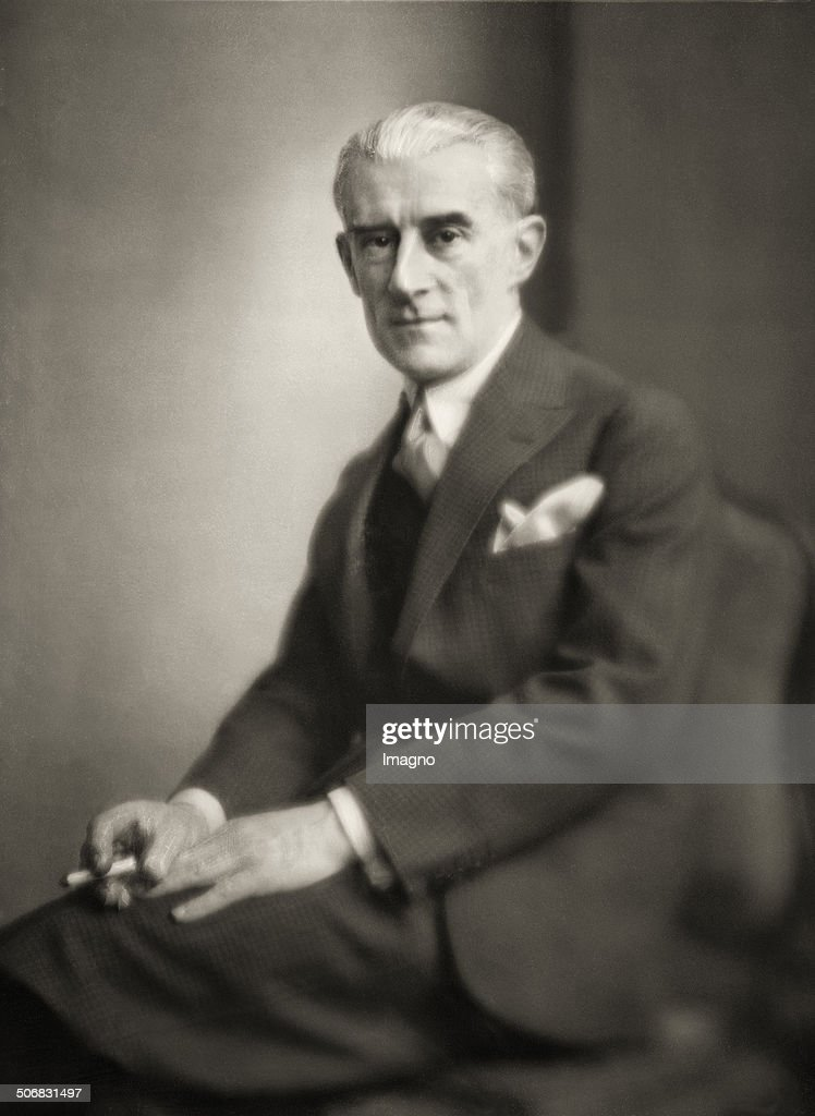 The French composer and pianist <a gi-track='captionPersonalityLinkClicked' href=/galleries/search?phrase=Maurice+Ravel&family=editorial&specificpeople=488980 ng-click='$event.stopPropagation()'>Maurice Ravel</a>. Photograph. 1929. .