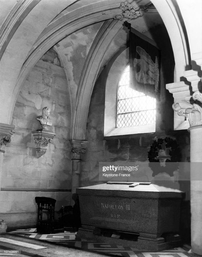 The French Emperor Napoleon Iii Tomb At St Michael Abbey.Photography Taken During The 1950'S.