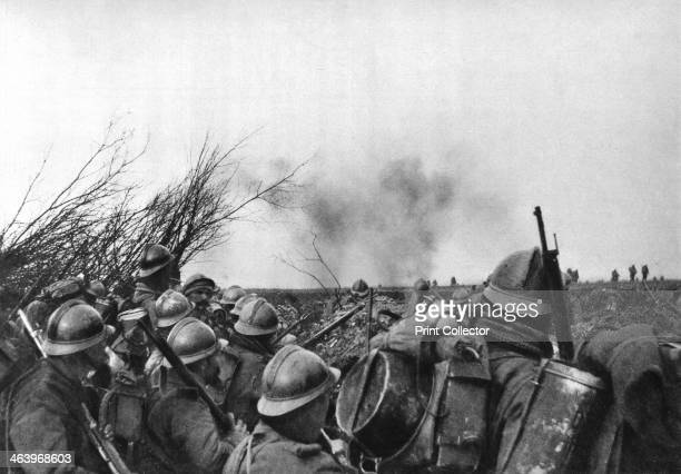 The French front line at Douaumont Verdun France 25 February 1916 Douaumont was the site of one of the network of forts built around the city of...