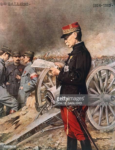 The French General JosephSimon Gallieni by Ferdinand Roybet World War I France 20th century
