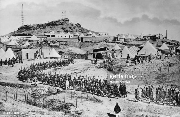 The French invasion of Morocco circa 1907
