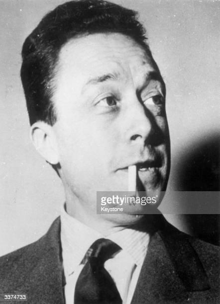 The French novelist essayist and dramatist Albert Camus
