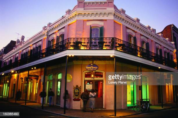 The French Quarter at night - New Orleans, Louisiana