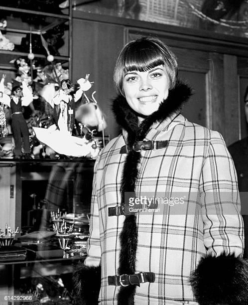 The French singer Mireille Matthieu Madrid Spain