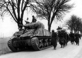 The French Troops Advanced Towards The German Front In The Gambsheim 19450300 Strasbourg Was Released Late 1944 Colmar February 2 1945