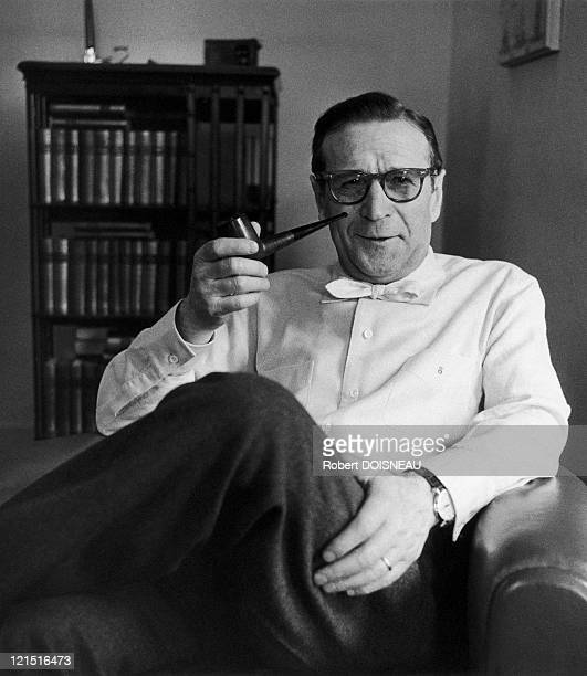 The French Writer Georges Simenon