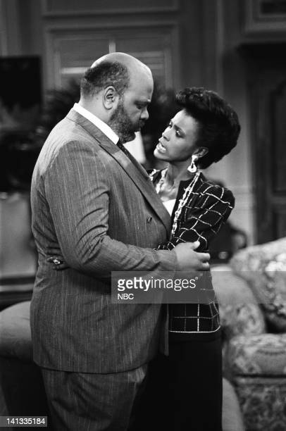 AIR 'The Fresh Prince Project' Episode 1 Pictured James Avery as Philip Banks Janet Hubert as Vivian Banks Photo by Chris Haston/NBCU Photo Bank