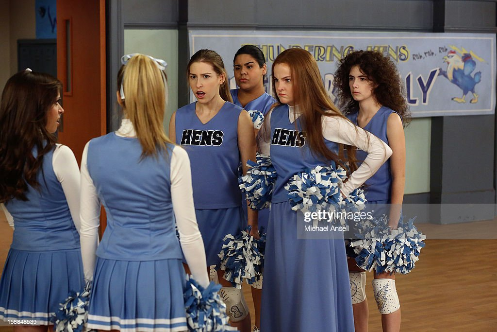 THE MIDDLE - 'The Friend' - Mike is upset with Frankie when he discovers that she set him up on an adult playdate with a new neighbor who shares the same interests. Meanwhile, when the school cheerleaders announce that they're taking over cheering for the wrestlers - thus putting Sue and her Wrestlerettes out of business - a determined Sue demands a cheer off; and Brick makes a lovesick Axl begin to question whether he's intellectually stimulating enough for his smart, new girlfriend, on 'The Middle,' WEDNESDAY, JANUARY 23 (8:00-8:30 p.m., ET) on the ABC Television Network. BANNON, KATLIN MASTANDREA