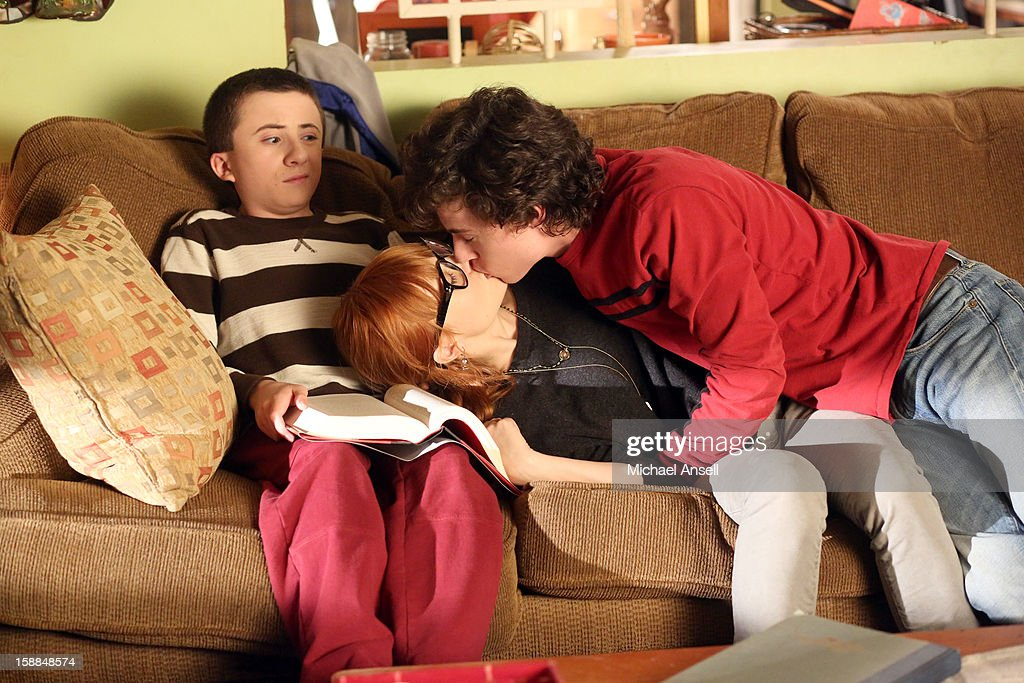 THE MIDDLE - 'The Friend' - Mike is upset with Frankie when he discovers that she set him up on an adult playdate with a new neighbor who shares the same interests. Meanwhile, when the school cheerleaders announce that they're taking over cheering for the wrestlers - thus putting Sue and her Wrestlerettes out of business - a determined Sue demands a cheer off; and Brick makes a lovesick Axl begin to question whether he's intellectually stimulating enough for his smart, new girlfriend, on 'The Middle,' WEDNESDAY, JANUARY 23 (8:00-8:30 p.m., ET) on the ABC Television Network. MCDERMOTT