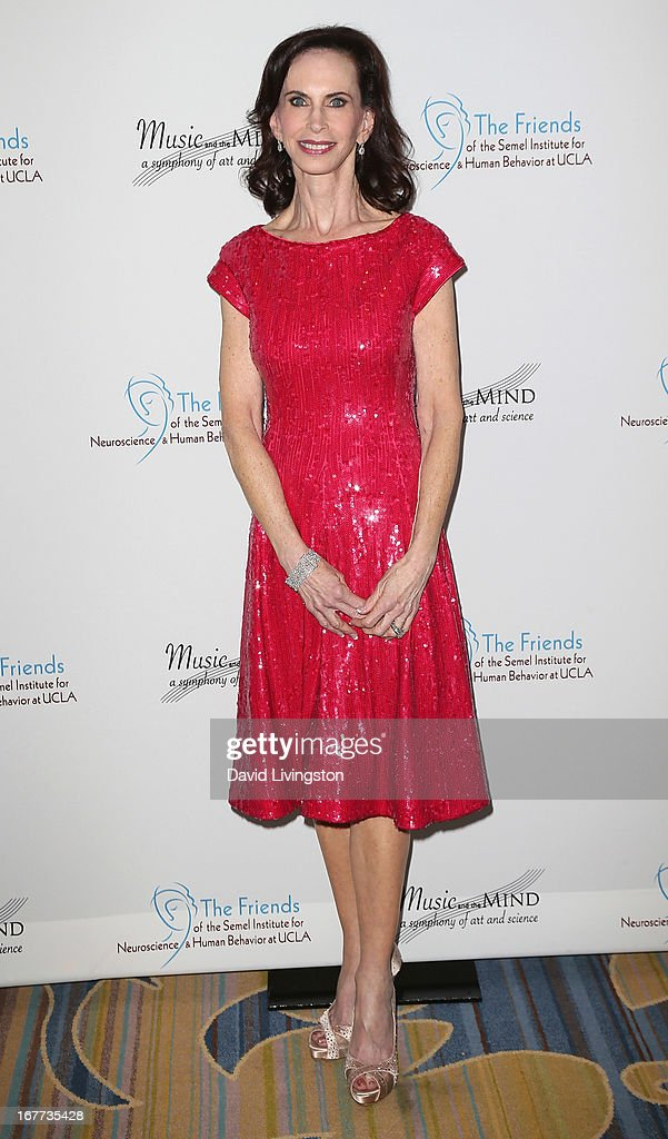 The Friends of the Semel Institute for Neuroscience & Human Behavior founder & president Vicky Goodman attends the Friends of the Semel Institute for Neuroscience & Human Behavior at UCLA's Inaugural Music and the Mind gala at the Regent Beverly Wilshire Hotel on April 28, 2013 in Beverly Hills, California.