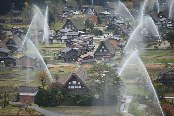 the frond house is wada house the biggest house at shirakawa go water biggest treehouse in the world 2014 - Biggest House In The World 2014