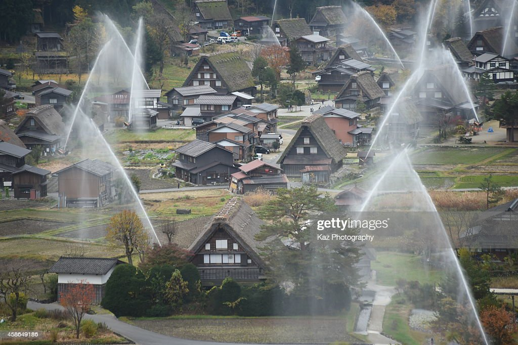 The Frond House Is Wada House The Biggest House At Shirakawa Go Water  Biggest Treehouse In