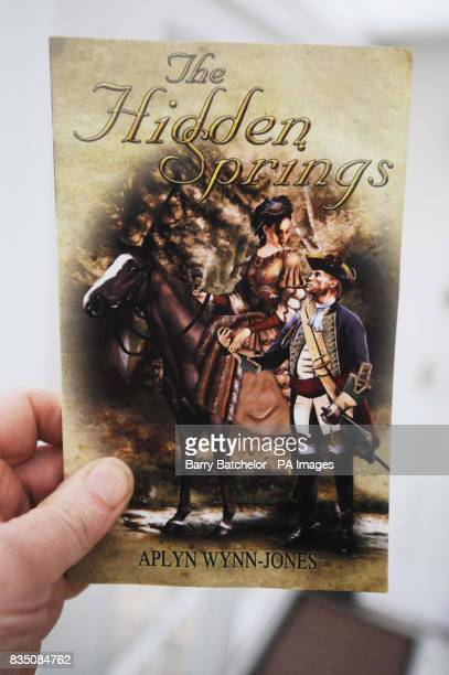 The front cover of the 'Hidden Springs' a book written by Aplyn WynnJones who died after walking home from Musgrove Park Hospital in Taunton