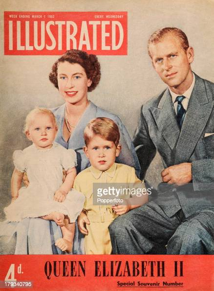 Illustrated Book Cover Queen ~ Family of queen elizabeth ii at her succession pictures