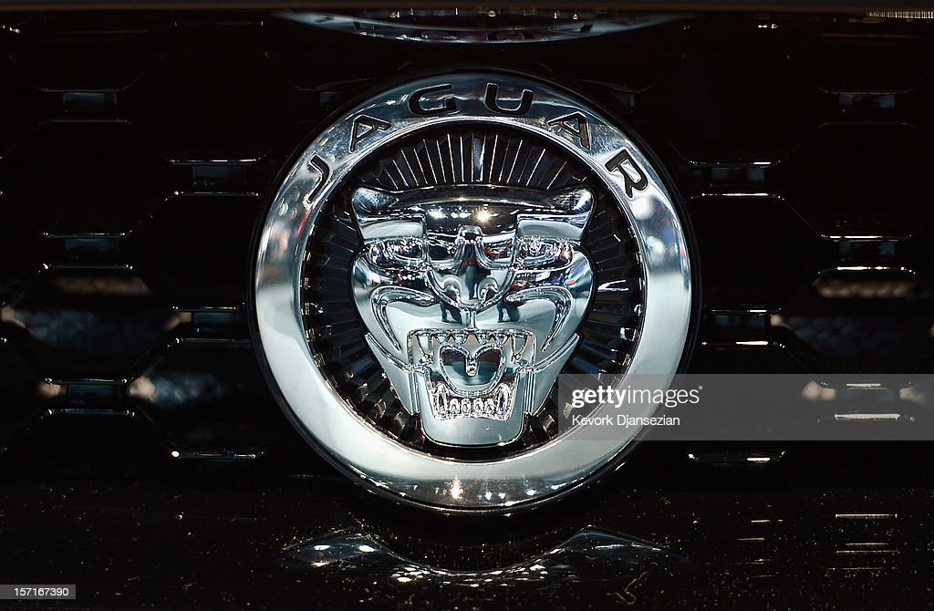 The front grill ornament of a Jaguar is seen at the Los Angeles Auto Show on November 29, 2012 in Los Angeles, California. The LA Auto Show opens to the public on November 30 and runs through December 9.