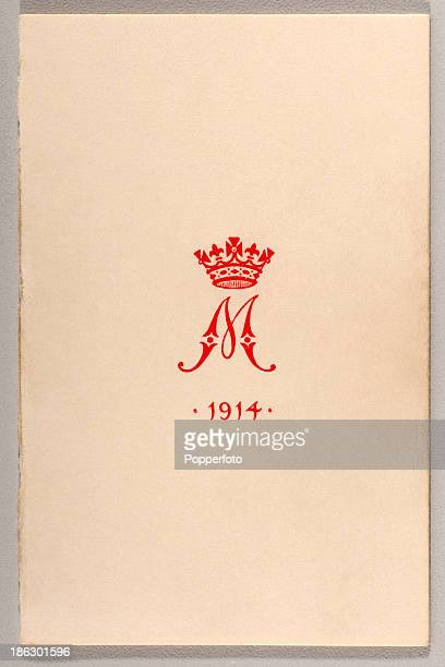 The front of the Christmas greetings card which accompanied the Christmas gift tin distributed to all British Armed Forces soldiers and sailors in...