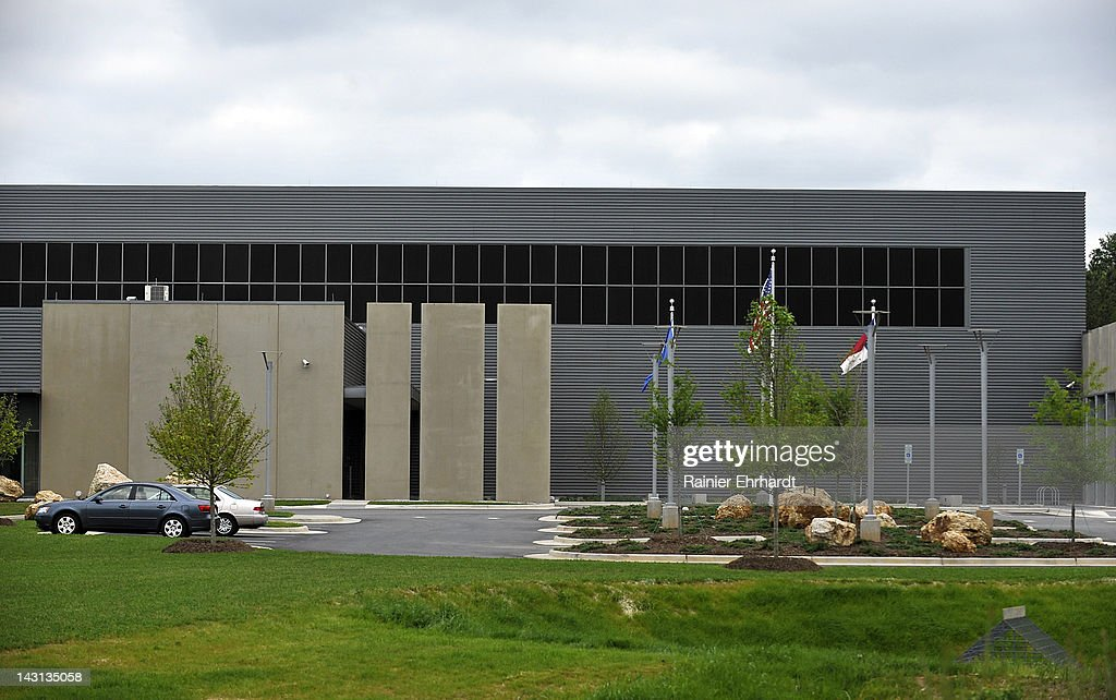 The front of the new Facebook Data Center on April 19, 2012 in Forest City, North Carolina. The company began construction on the facility in November 2010 and went live today, serving the 845 million Facebook users worldwide.