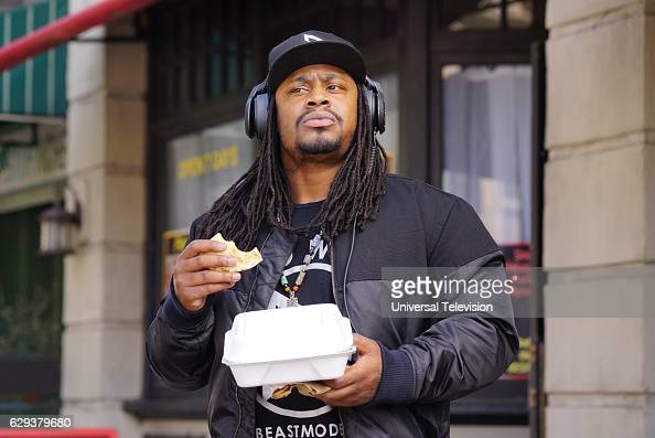 NINE 'The Fugitive Part 1' Episode 411 Pictured Marshawn Lynch as himself