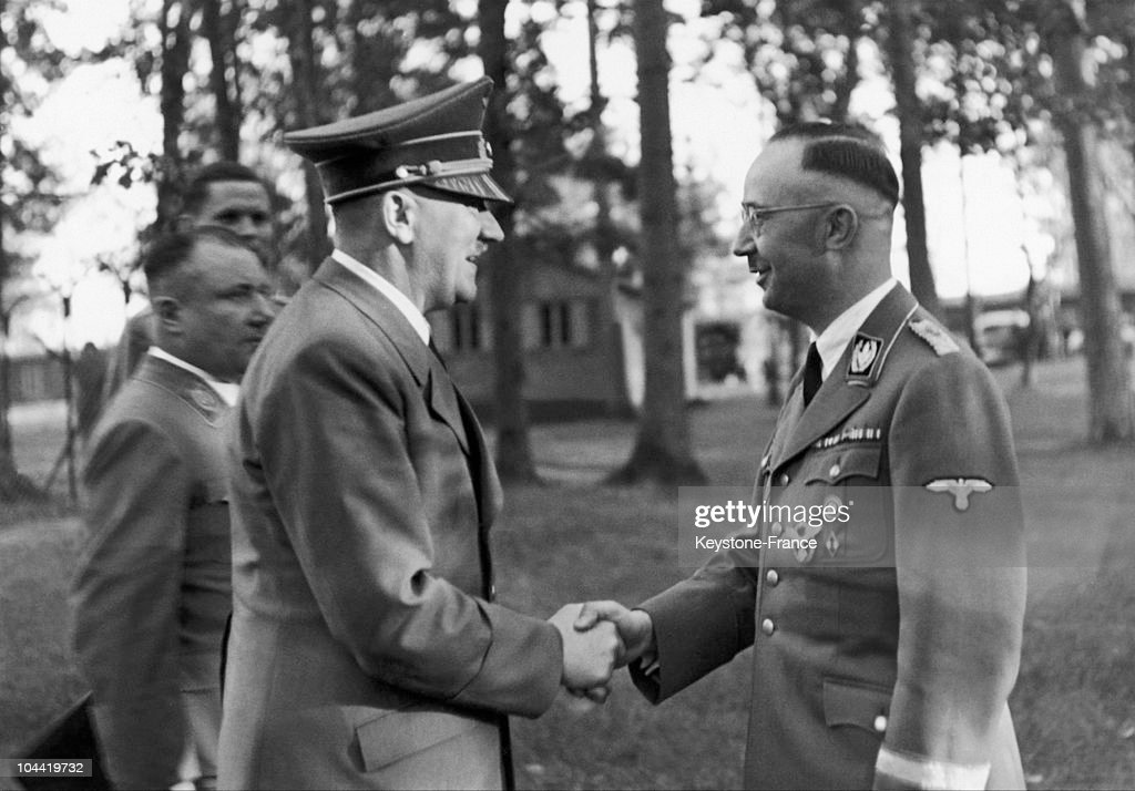 a biography of heinrich himmler the head of the gestapo and the waffen ss Heinrich himmler the ss, gestapo,  nazi fanatics the waffen ss history  former head of nazi gestapo heinrich mueller buried in jewish .