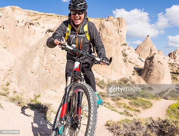 The fun of Cappadocia Mountainbiking