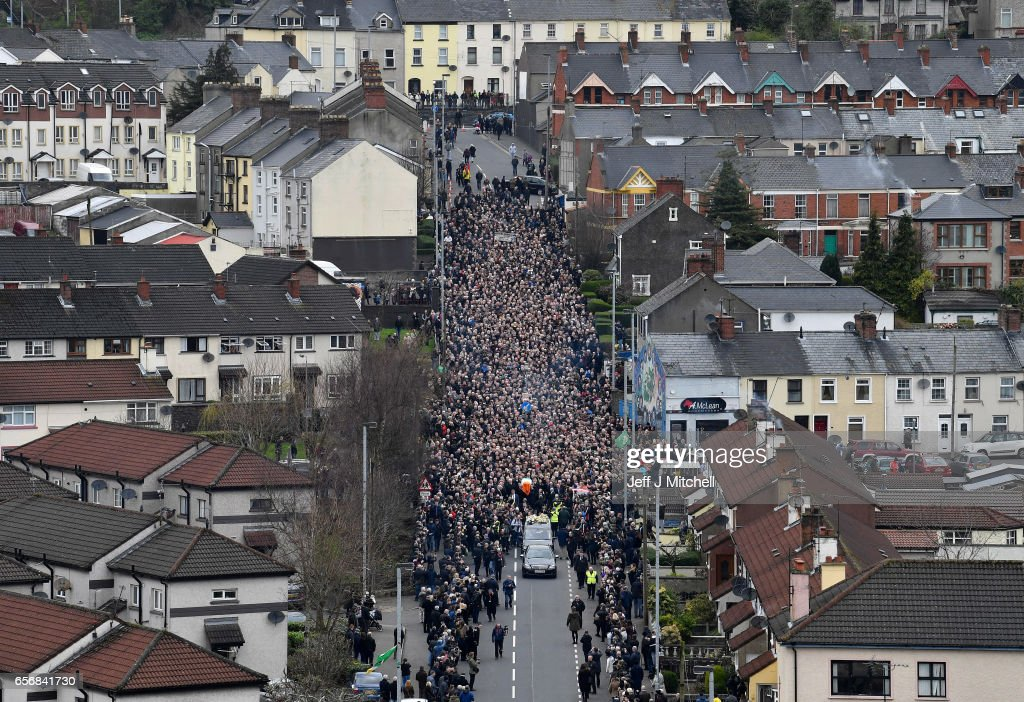 Martin McGuinness' Funeral Held In Derry