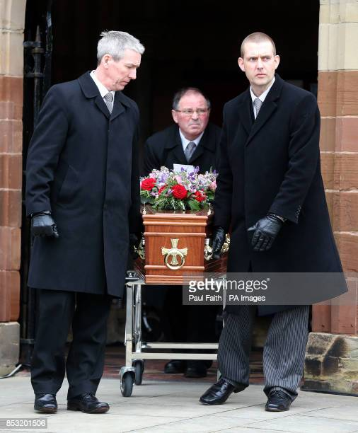 The funeral of Belfastborn actor Jimmy Ellis took place at St Mark's Church on Holywood Road east Belfast