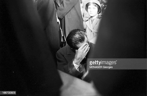 The Funeral Of Fausto Coppi Italie 5 janvier 1960 les obsèques du champion cycliste Fausto COPPI dans son village natal de Castellania Dans le...