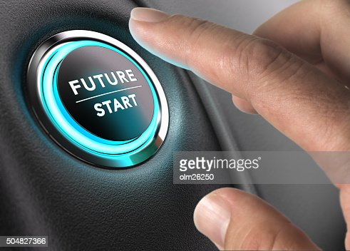 The Future is Now, Strategic Vision : Stock Photo