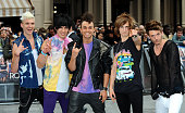 The Future Kicks attend the Rock of Ages Premiere on June 10 2012 at the Odeon Cinema in London