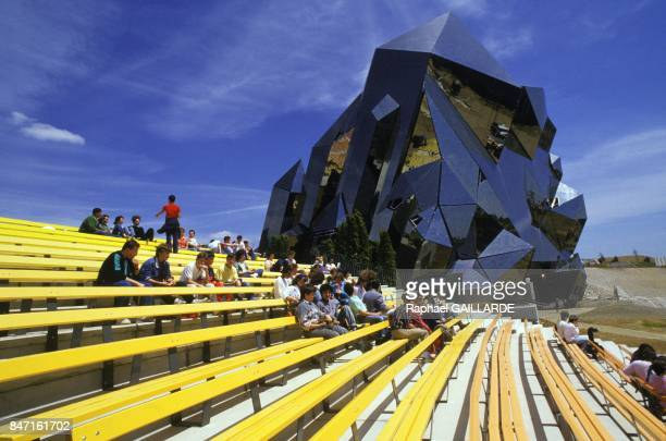 The Futuroscope theme park on June 2 1987 in Poitiers France