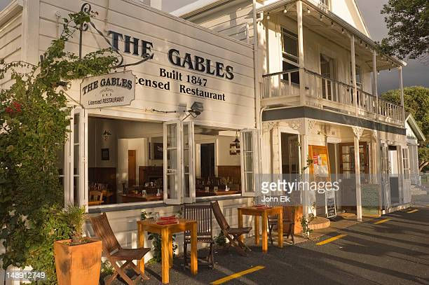 The Gables restaurant.