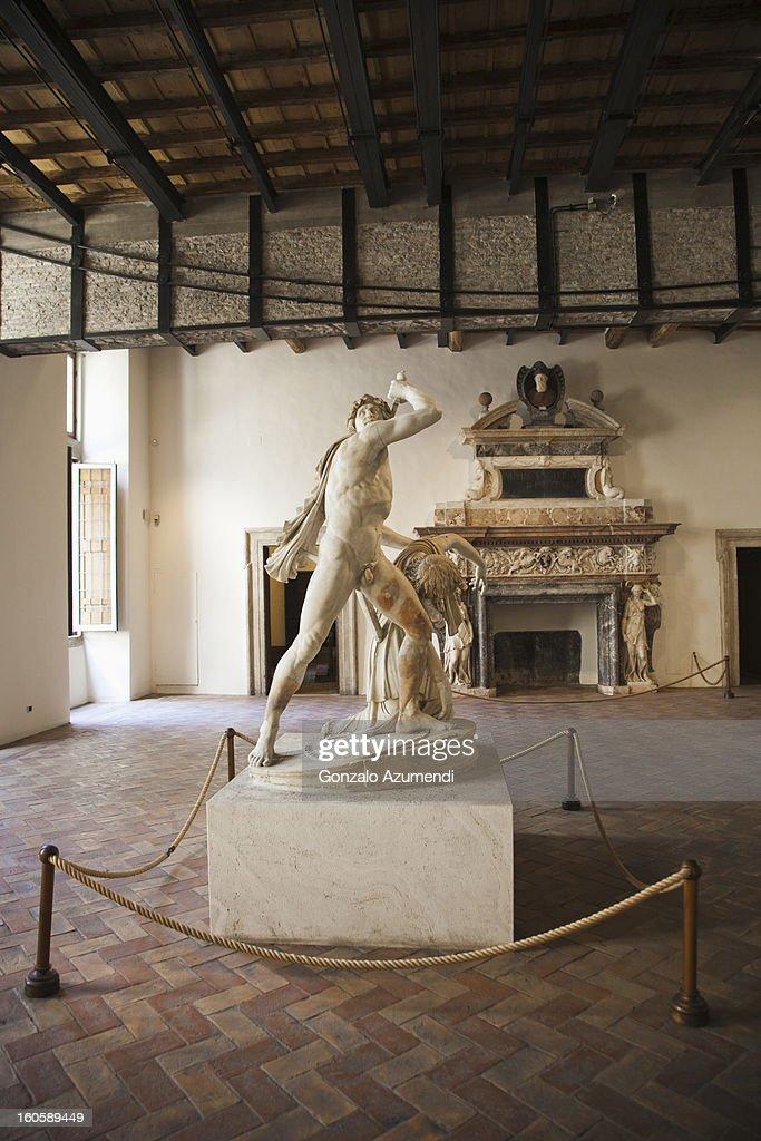 The Galata Suicide sculpture. : Stock Photo