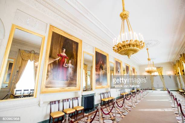 The Gallery room in Palace Noordeinde on July 22 2017 in The Hague Netherlands Palace Noordeinde is the office of King WillemAlexander and Queen...