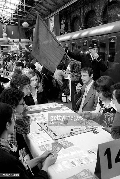 The game arriving on platforms three and four of Fenchurch street station in London was Monopoly More than 240 players were competing for the British...