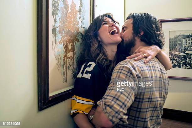 US 'The Game Plan' Episode 105 Pictured Mandy Moore as Rebecca Milo Ventimiglia as Jack