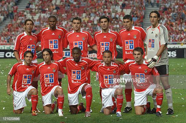 The game was the SLBenfica soccer team official presentation for the 2006/2007 season The Benfica defeated Bordeaux French team commanded by the...