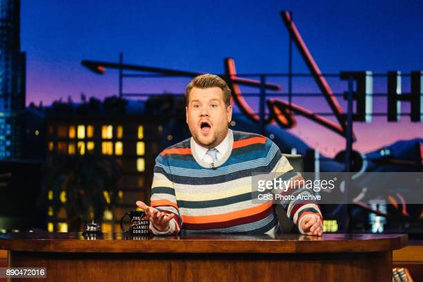 The Gap Crazy Stripe Choir performs during an advertisement for Gap on 'The Late Late Show with James Corden' Tuesday November 21 2017 On The CBS...