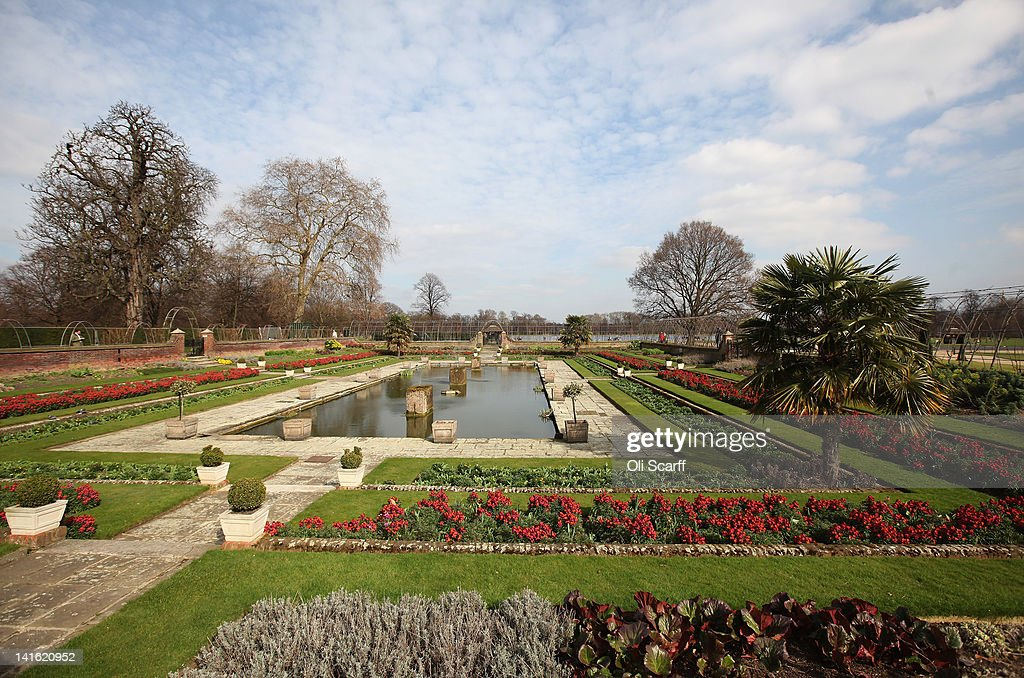 The gardens of Kensington Palace on March 20 2012 in London England Kensington Palace is due to reopen to the public on March 26 2012 following a 12...