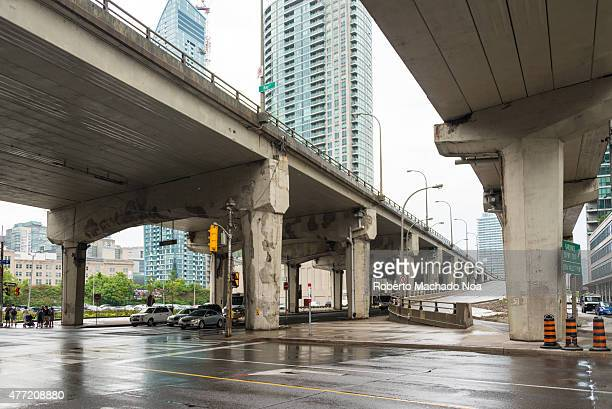 EXPRESSWAY TORONTO ONTARIO CANADA The Gardiner Expressway is doomed for demolition after the city council voted 24 to 21 to construct a hybrid option...