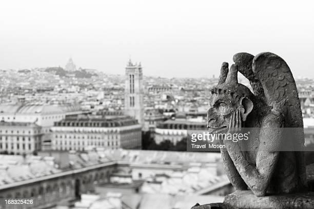 Le Gargoyles de Notre-Dame, Paris