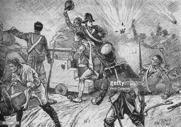 The Garrison Met The Bombardment Bravely' 1902 The Siege of San Sebastian French Empire against Portugal and United Kingdom From Battles of the...