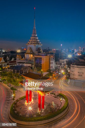 Yaowarat Road Stock Photos and Pictures  Getty Images