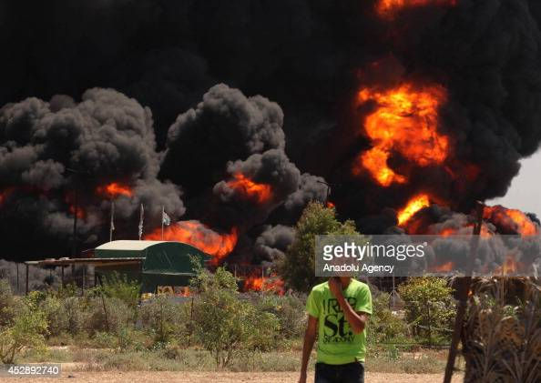 The Gaza Strip's only power plant was forced to shut down Tuesday after an Israeli attack hit the facility's fuel depot on July 292014 Even before...