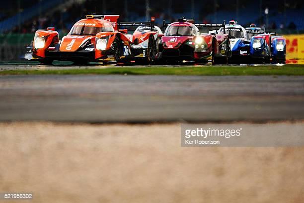 The GDrive Racing Oreca Nissan of Roman Rusinov Nathanael Berthon and Rene Rast drives during the FIA World Endurance Championship Six Hours of...